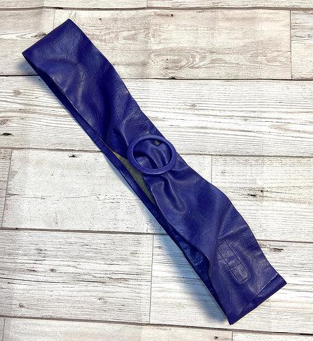 1980s Vintage Purple Belt UK 8/10/12