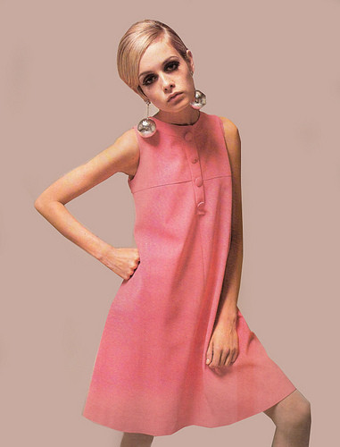 Twiggy   1960s Dresses   Vintage Dresses