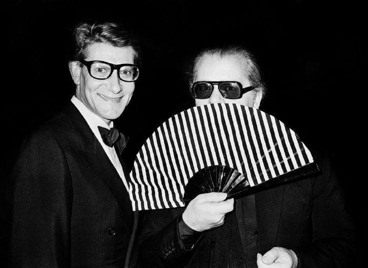 Karl Lagerfeld | Yves Saint Laurent | Vintage Designer Fashion