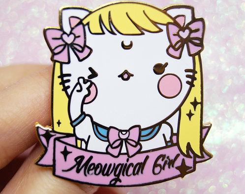 Meowgical Girl  Enamel Pin