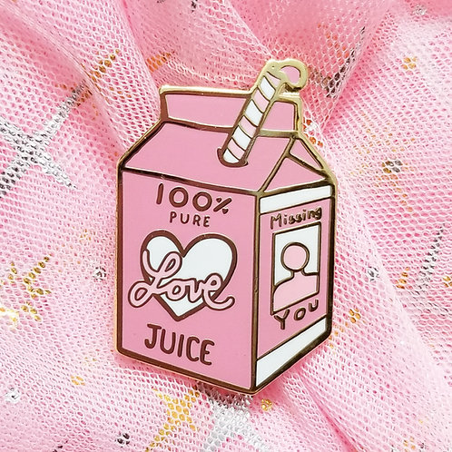 Love Juice : Missing you Enamel Pin