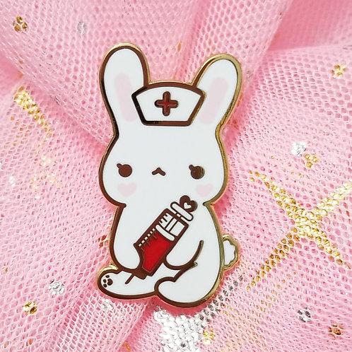 Nurse Buns Enamel Pin