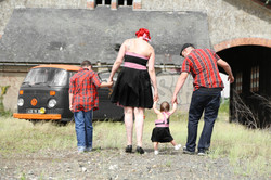 Oriane habille toute sa famille