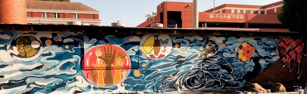 Queens University Community Mural