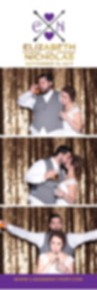 Candid Detroit Photo Booth Photo Strip Design. Custom photo strip. Custom photo booth. Photo booth Michigan. Affordable photo booth.