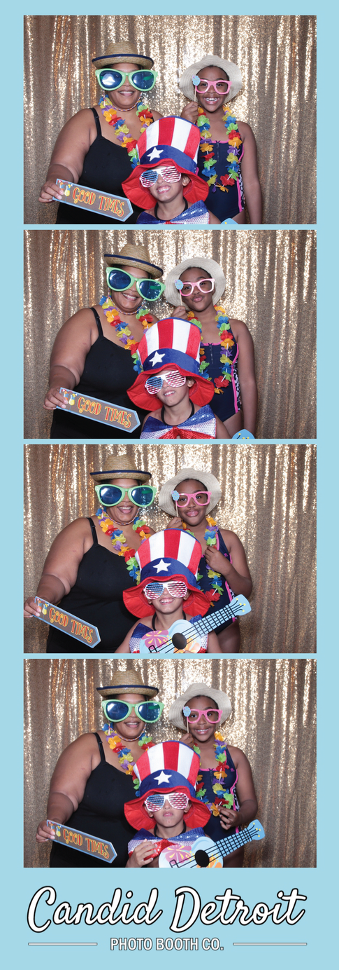 Candid Detroit Photo Booth Co. photo strip