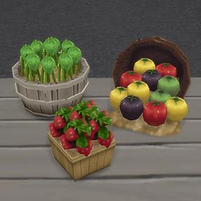 Stockable Produce Displays