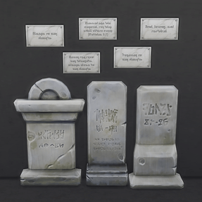 Functional Wall Epitaphs
