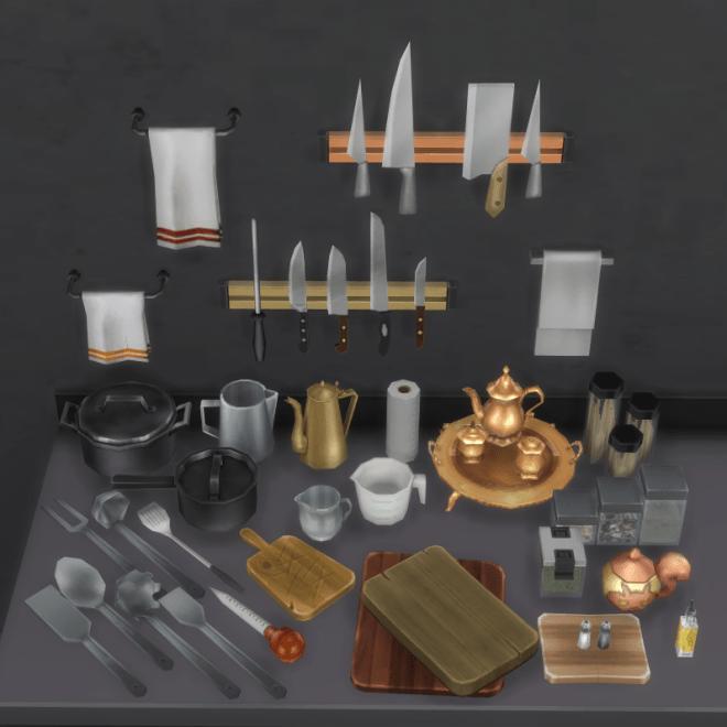 Kitchen Clutter Set