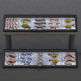 Iced Fish Displays