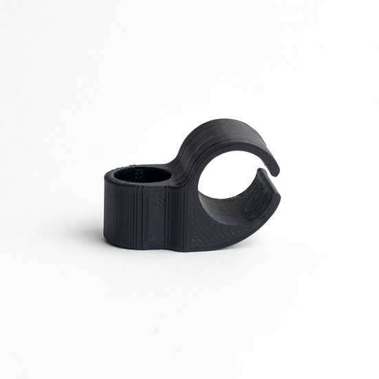 Screw Mount 13mm 1-Cable Clamp