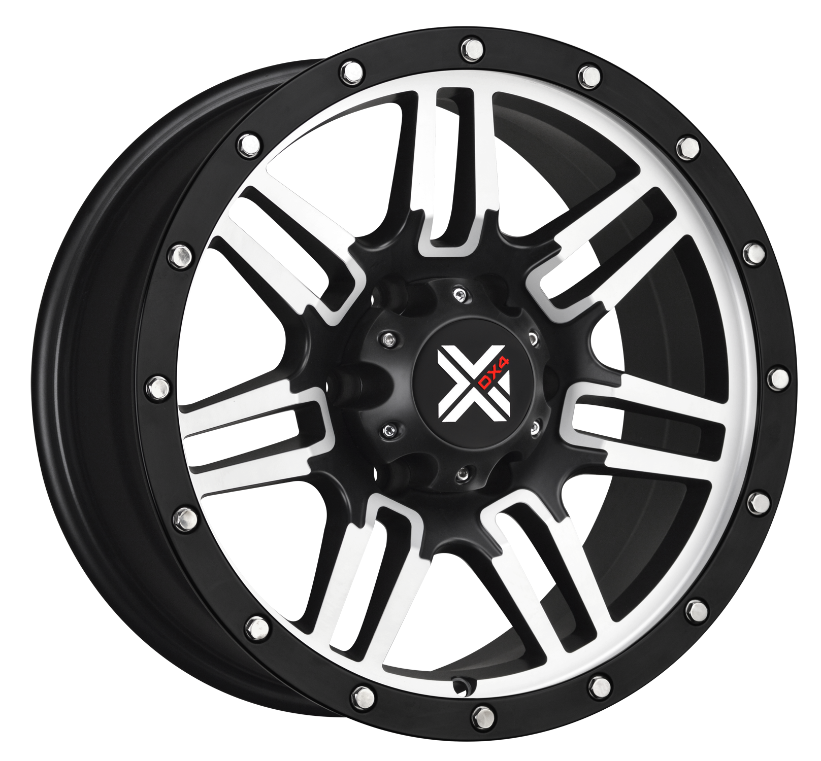DX4  7S  - Matte Black Machined