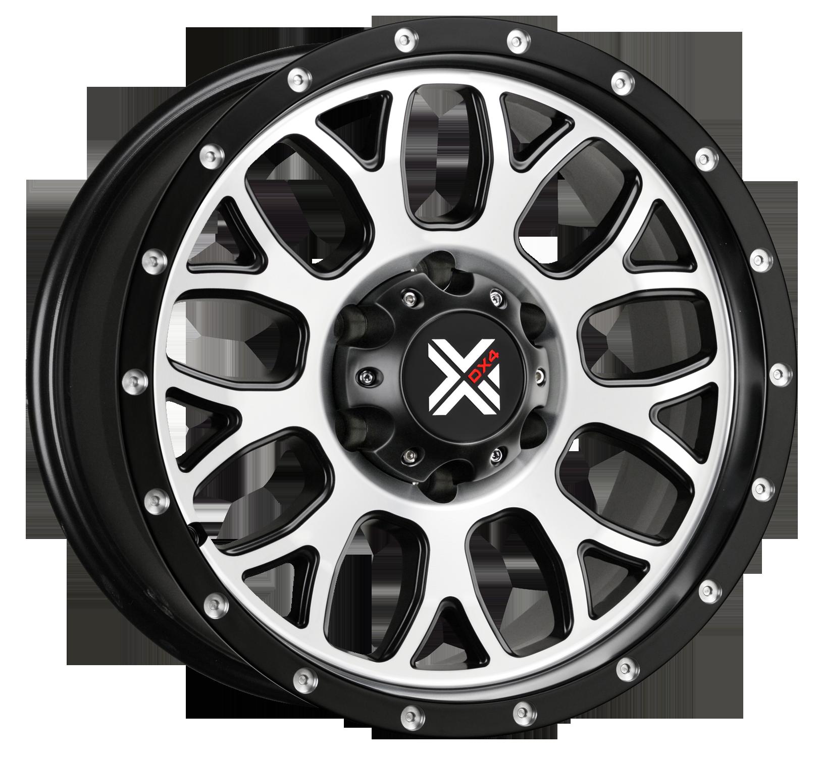 DX4  GEAR  - Matte Black Machined