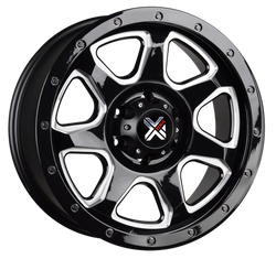 DX4 STORM - Gloss Black Milling