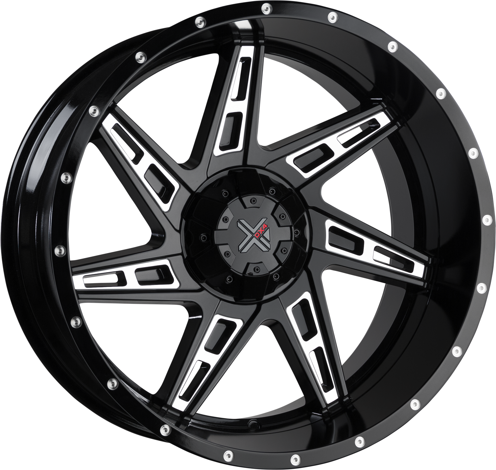 DX4 SKULL - Gloss Black Machined