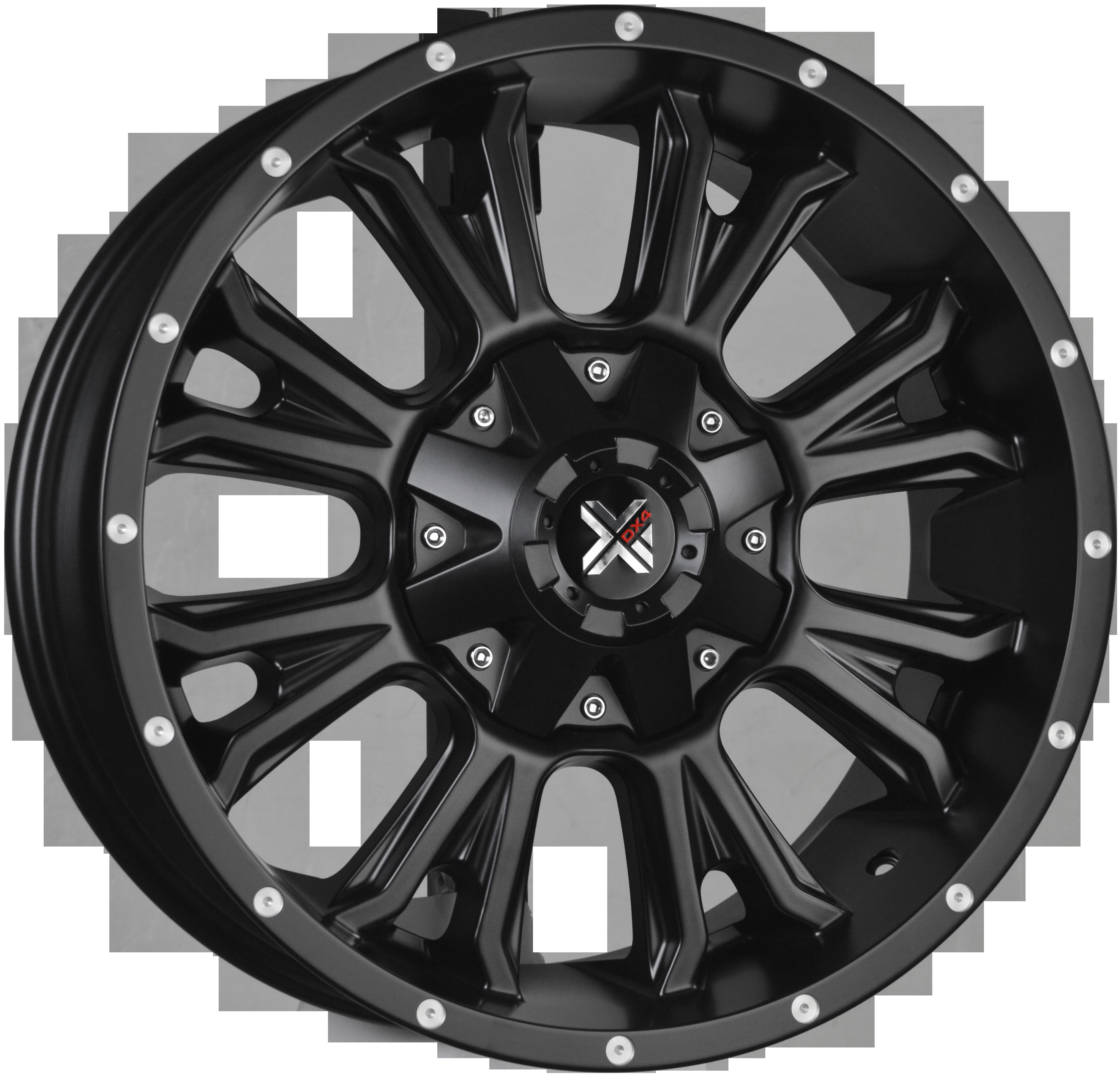 DX4 RENEGADE - Flat Black