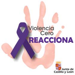 LOGOTIPO VIOLENCIA CERO REACCIONA_CON (2)