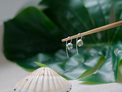Boucles d'oreilles 'Lagon'