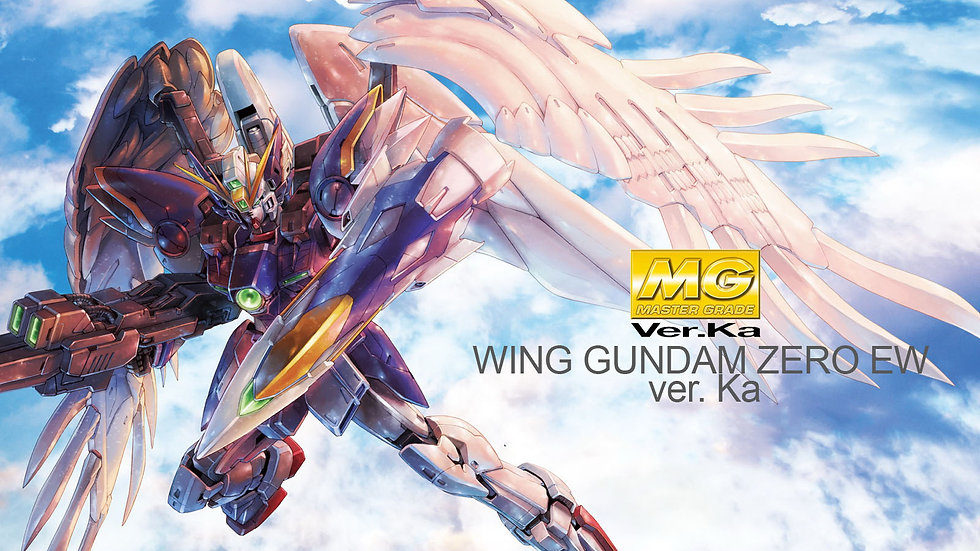 MG 1/100 WING GUNDAM ZERO EW Ver.Ka