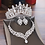 Thumbnail: Crystal Bridal  Sets Rhinestone Tiaras