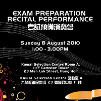 EXAM PREPARATION RECITAL 2010