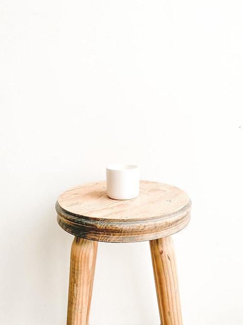 Mini Ceramic Pot - Matt White
