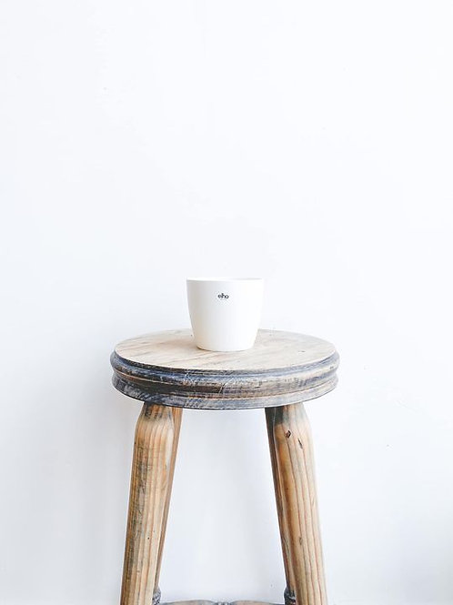 elho Brussels Mini Pot - White