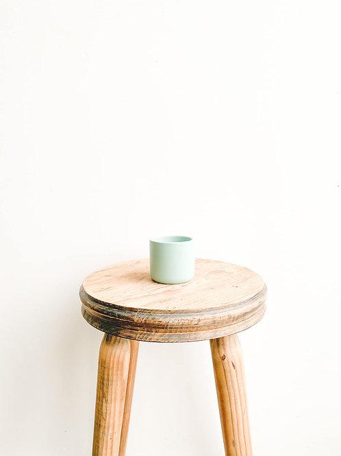 Mini Ceramic Pot - Matt Turquoise