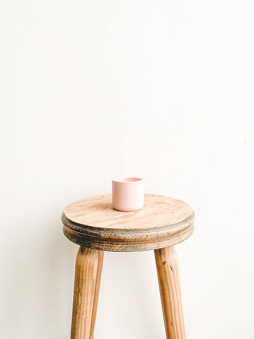Mini Ceramic Pot - Matt Pink