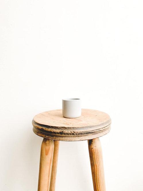 Mini Ceramic Pot - Matt Grey