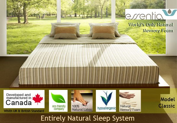 Organic Natural Memory foam mattress best in the world doctor recommended deal