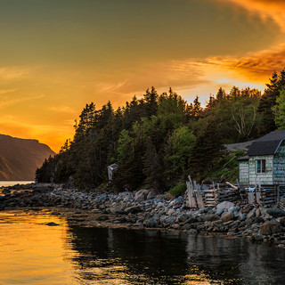 Norris Point Sunset