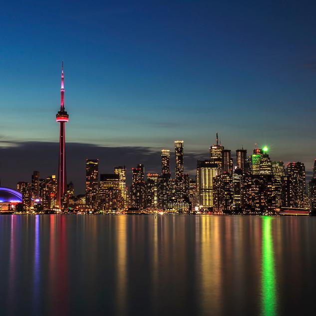 Toronto Skyline from Centre Island