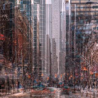 King Street Abstract (Toronto)