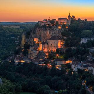 A Rocamadour Twilight