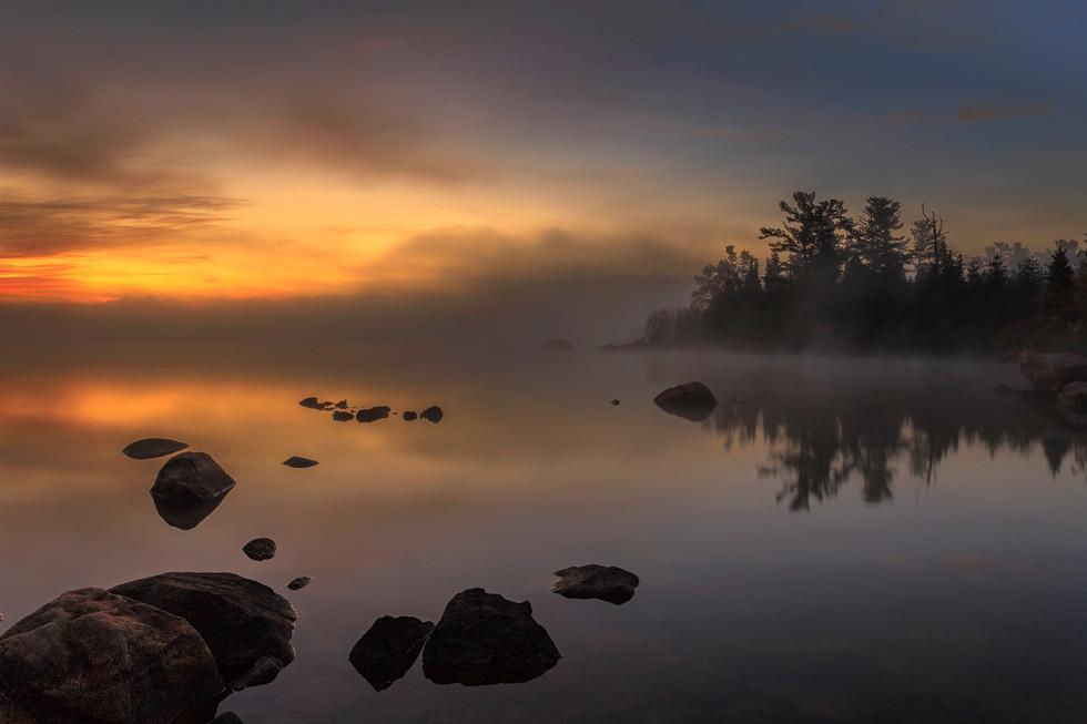 Sunrise, St. Joe's Island