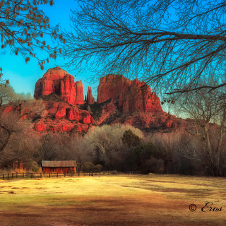 Cathedral Rock and Shed