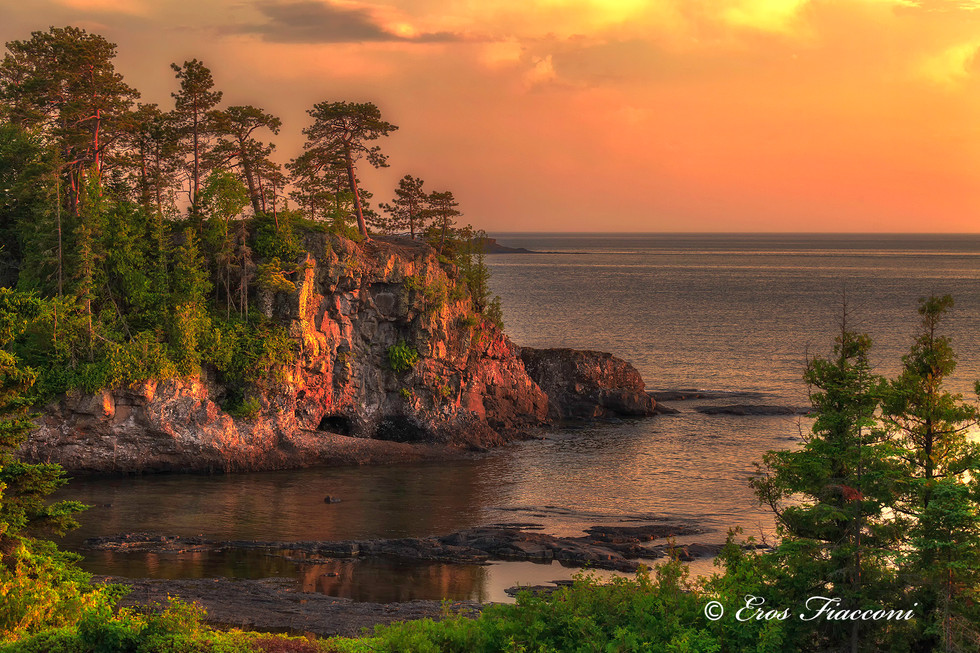 Magical Twilight on Lake Superior