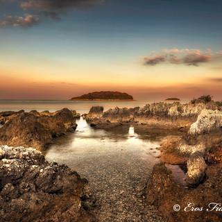 Daybreak near Vrsar Croatia