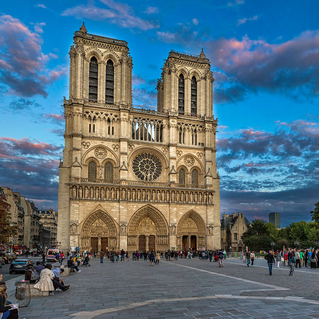 Evening at Notre Dame