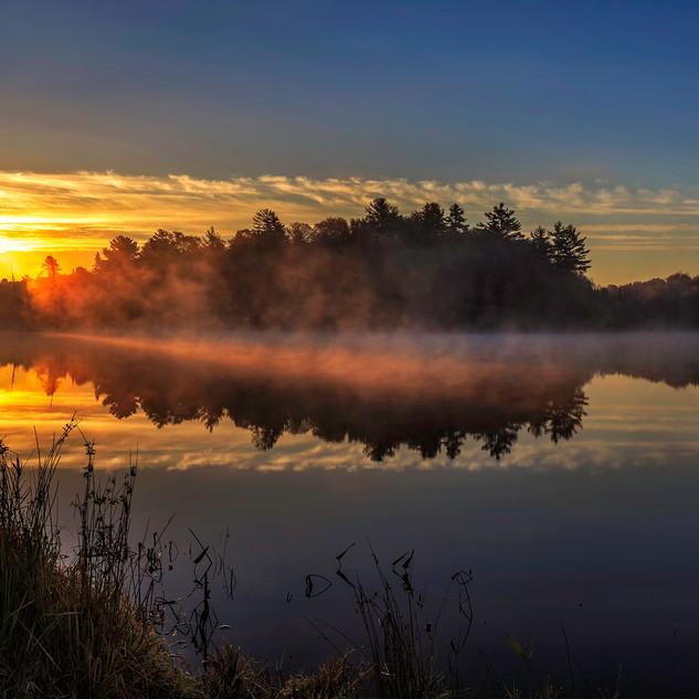 Sunrise in the Muskokas
