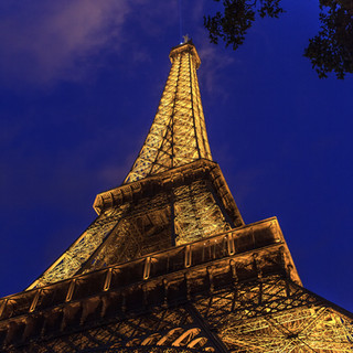 Eiffel Tower at Twilight