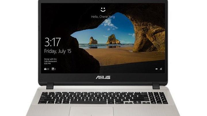 מחשב נייד Asus X507UA I3 7020U 8GB 256 SSD FHD free dos Gold