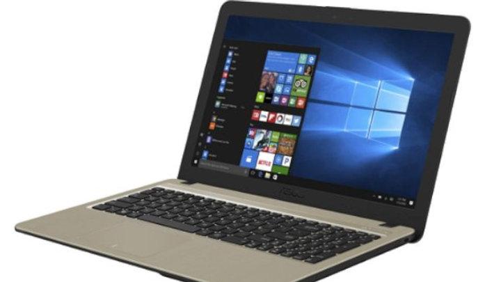 מחשב נייד ASUS X540BA-GO371 A6-9225 4GB SSD256GB BLACK 15.6