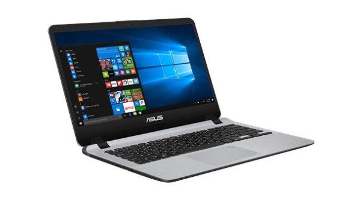 מחשב נייד ASUS I3-7020U 8GB SSD256GB M2 Free Dos GRAY 14