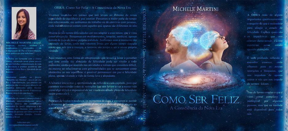 Capa Livro Como Ser Feliz Michele Martin