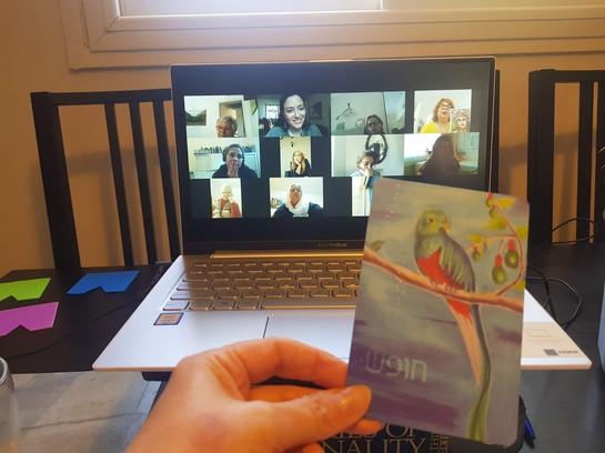 סדנת קלפים טיפוליים - זום