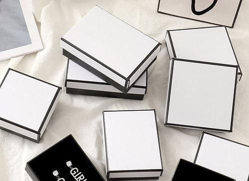 Black & White Jewellery Box