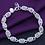 Thumbnail: Silver Hollow Chain Bracelet