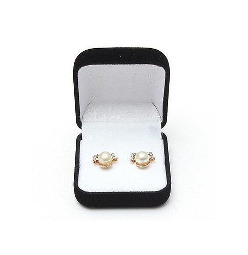 Black Velvet Ring Jewellery Box